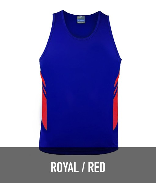 Aussie Pacific Tasman Singlet 1111 for Touch Oztag and sports teams