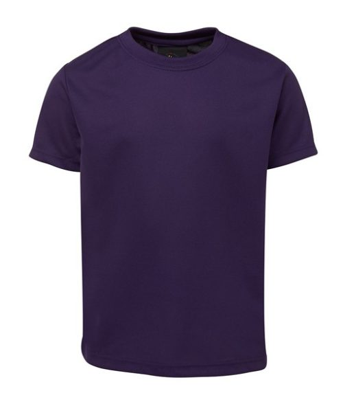 Jb's Wear Plain Poly Tee 7PNFT for Touch Oztag and sports teams
