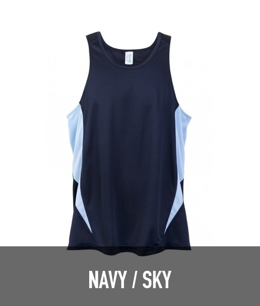 Ramo Accelerator Singlet T448MS for Touch Oztag and sports teams