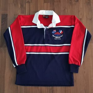 Custom knitted Rugby jersey